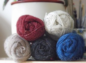 Tweed yarns