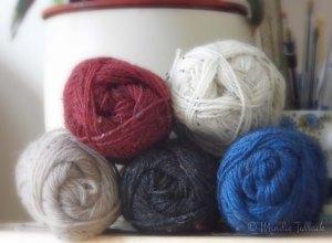 Tweed yarns