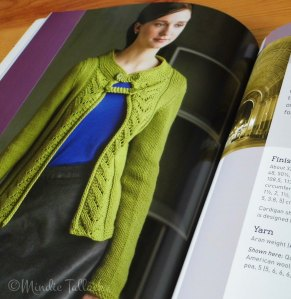 Beaux Arts Cardigan - by Cecily Glowik MacDonald
