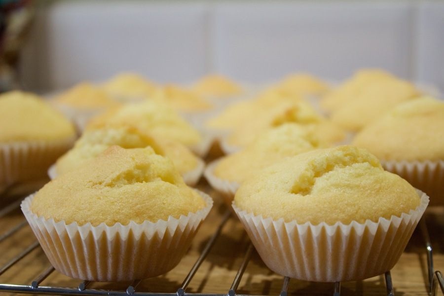 Gluten and Dairy Free Lemon Cupcakes